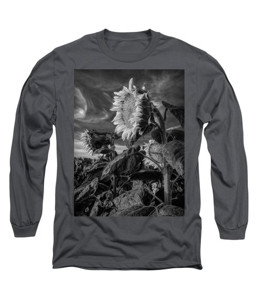Strength Of A Sunflower Long Sleeve T-Shirt