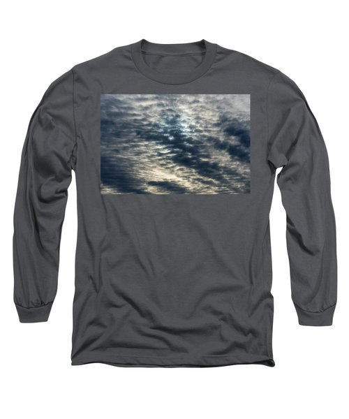 Striated Clouds Long Sleeve T-Shirt
