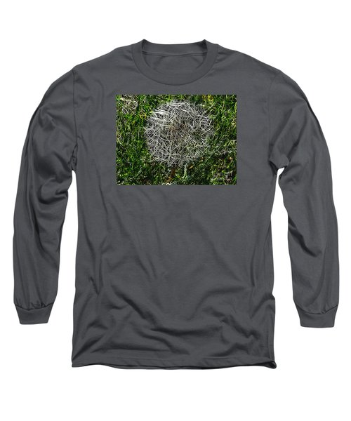 String Theory Dandelion Long Sleeve T-Shirt by Craig Walters