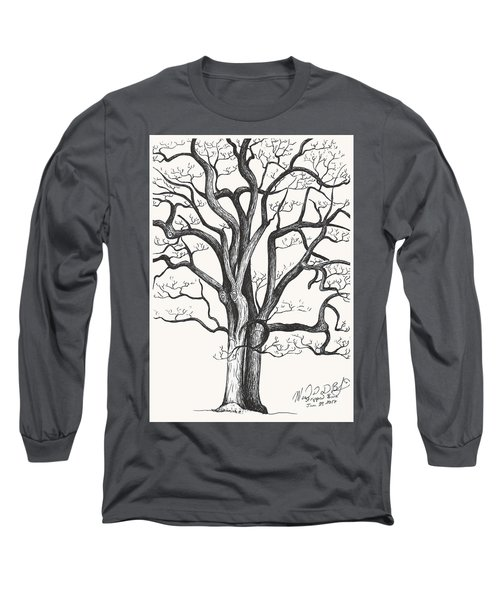 Stripped Bare Long Sleeve T-Shirt