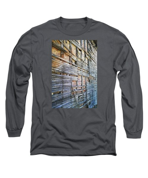 Strips Long Sleeve T-Shirt by Steve Sperry
