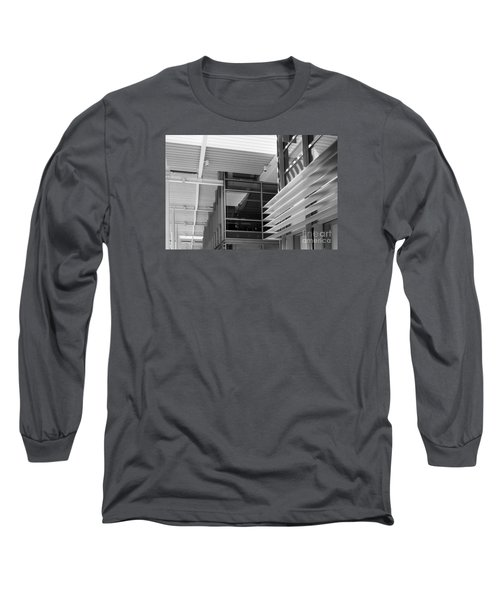 Structure Abstract 1 Long Sleeve T-Shirt