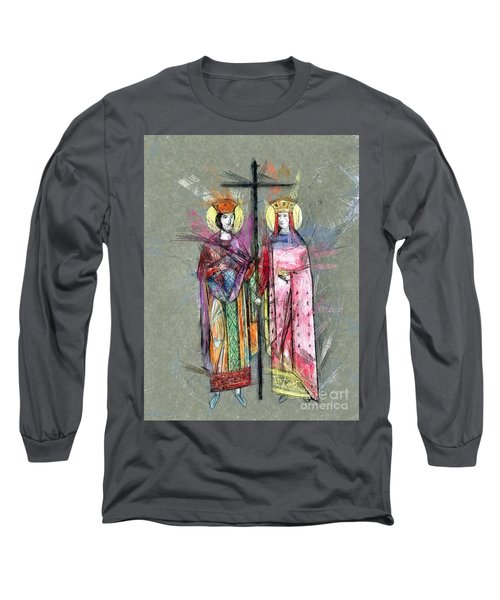 Sts. Constantine And Helen Long Sleeve T-Shirt