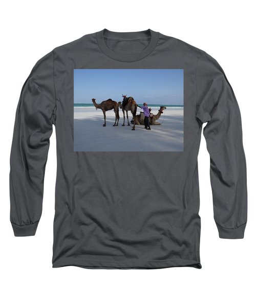 Stubborn Wedding Camels Long Sleeve T-Shirt