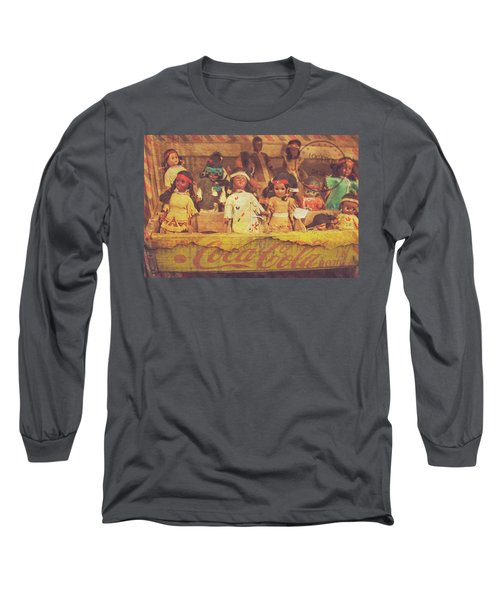 Long Sleeve T-Shirt featuring the photograph Stuck In This Box With Nothing To Drink by Toni Hopper