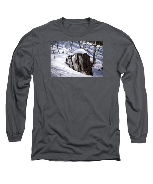Stump Long Sleeve T-Shirt by Elaine Malott