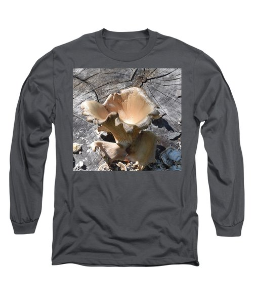 Stump Mushroom I Long Sleeve T-Shirt
