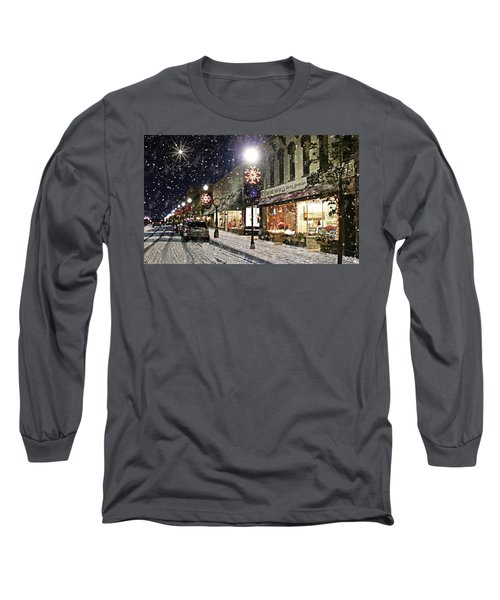Sturgeon Bay On A Magical Night Long Sleeve T-Shirt