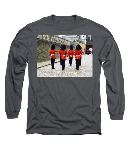 Step Aside For The Tower Guard Long Sleeve T-Shirt