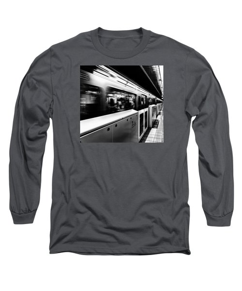 Subway Long Sleeve T-Shirt by Hayato Matsumoto