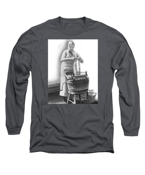 Long Sleeve T-Shirt featuring the painting Suds In The Bucket by Ferrel Cordle