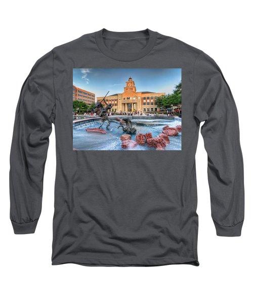Sugar Land Town Center Long Sleeve T-Shirt