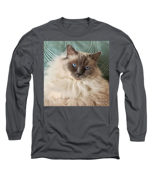Sugar My Ragdoll Cat Long Sleeve T-Shirt