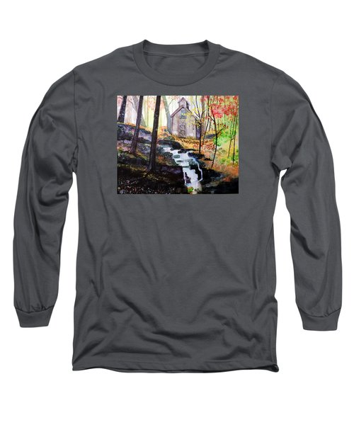Sugar Shack Long Sleeve T-Shirt by Tom Riggs