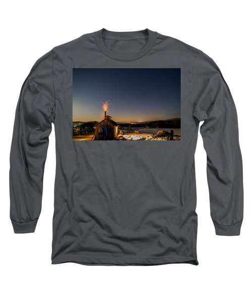 Sugaring View With Stars Long Sleeve T-Shirt