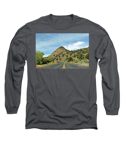 Long Sleeve T-Shirt featuring the photograph Sugarloaf Mountain In Six Mile Canyon by Benanne Stiens