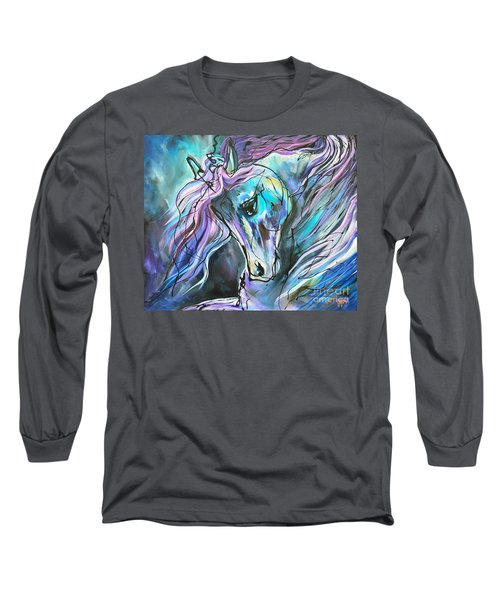 Suits Me To Swim Long Sleeve T-Shirt