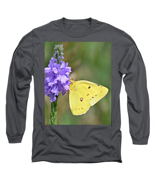 Sulfur Butterfly Long Sleeve T-Shirt