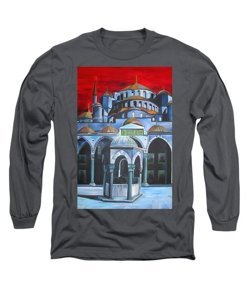 Sultan Ahmed Mosque Istanbul Long Sleeve T-Shirt