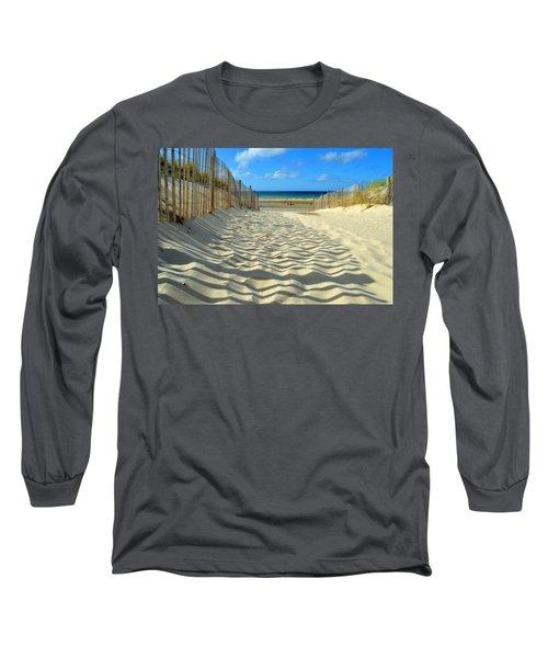 Sultry September Beach Long Sleeve T-Shirt