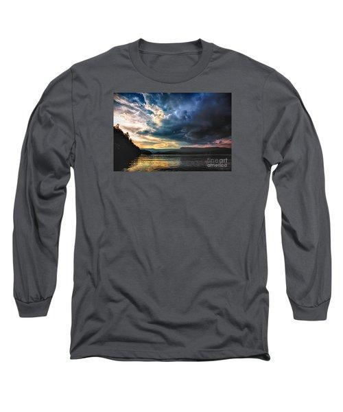 Summer At Lake James Long Sleeve T-Shirt by Robert Loe