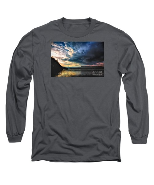 Summer At Lake James Long Sleeve T-Shirt