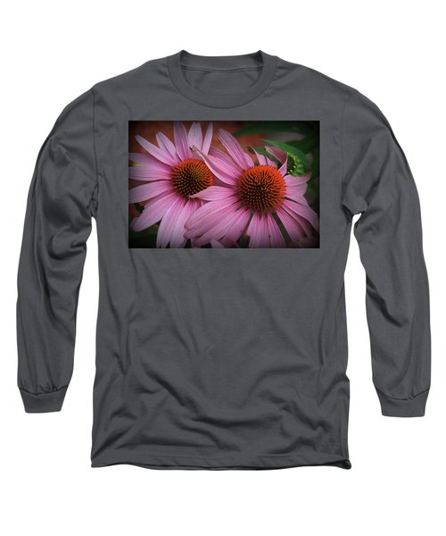 Summer Beauties - Coneflowers Long Sleeve T-Shirt