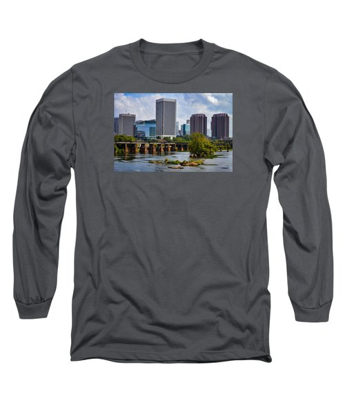 Summer Day In Rva Long Sleeve T-Shirt