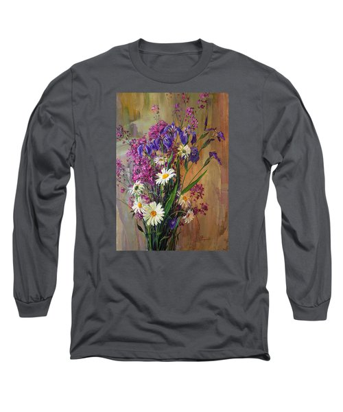 Summer Flowers Long Sleeve T-Shirt