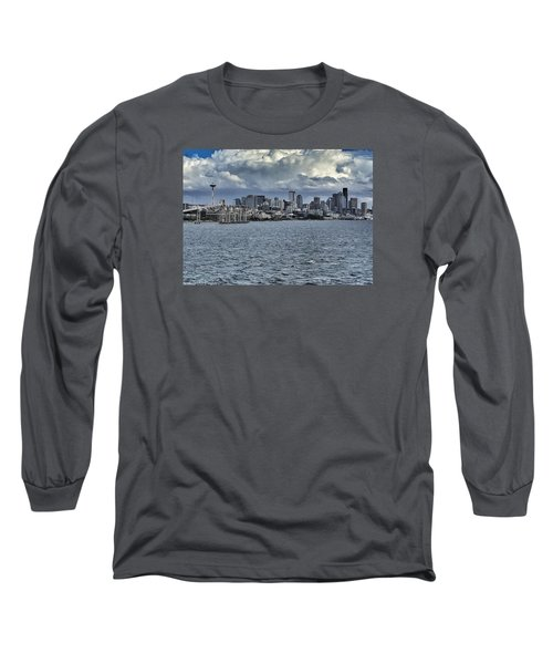 Summer In Seattle Long Sleeve T-Shirt