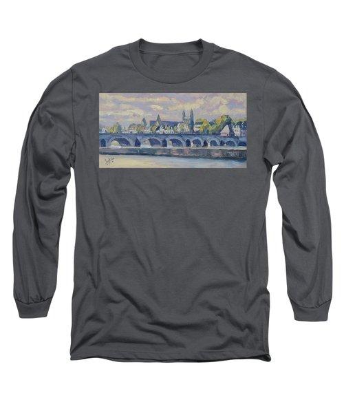 Summer Meuse Bridge, Maastricht Long Sleeve T-Shirt