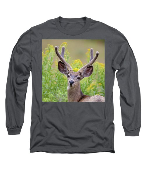 Summer Mule Deer Long Sleeve T-Shirt