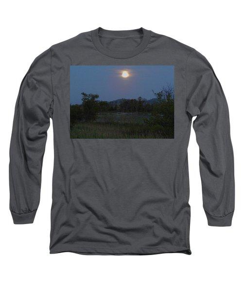Summer Solstice Full Moon Long Sleeve T-Shirt