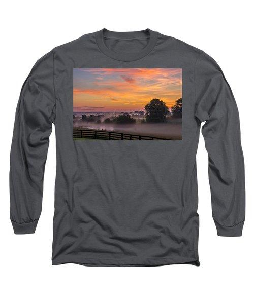 Summer Sunrise Long Sleeve T-Shirt
