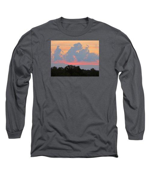 Summer Sunset In Missouri Long Sleeve T-Shirt