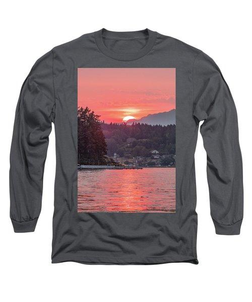 Summer Sunset Over Yukon Harbor.3 Long Sleeve T-Shirt