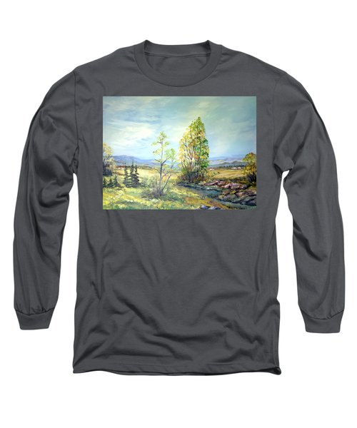 Summer Time Long Sleeve T-Shirt by Dorothy Maier
