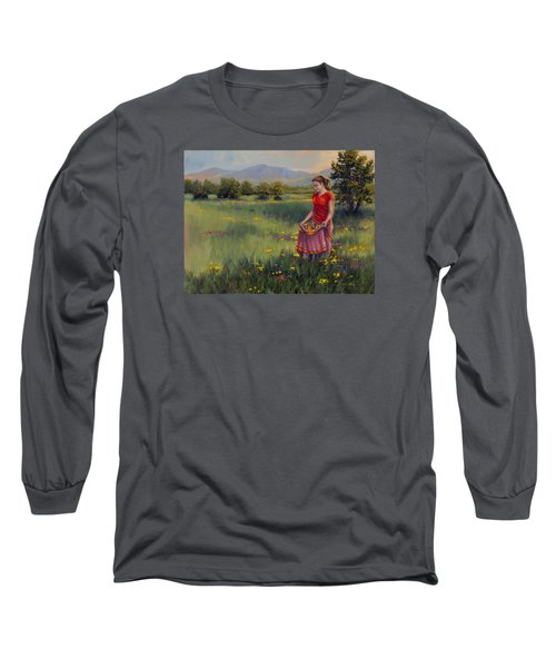 Summers Bounty Long Sleeve T-Shirt by Kurt Jacobson