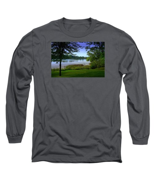 Long Sleeve T-Shirt featuring the photograph Summer's End by Judy  Johnson