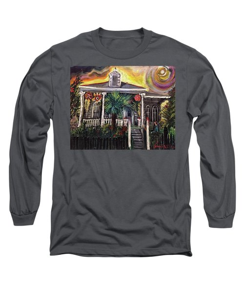 Summertime New Orleans Long Sleeve T-Shirt