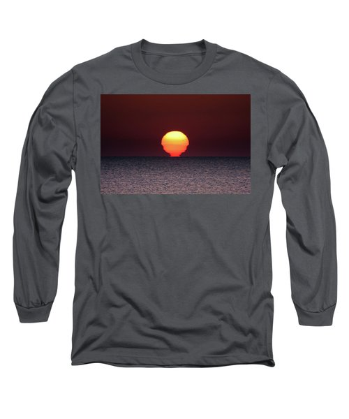 Long Sleeve T-Shirt featuring the photograph Sun by Bruno Spagnolo