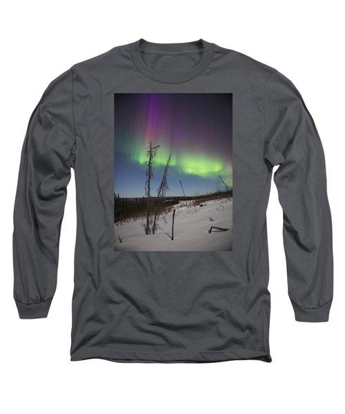 Sun-kissed Aurora Long Sleeve T-Shirt