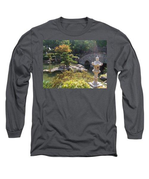Sun Over Bonsai Long Sleeve T-Shirt