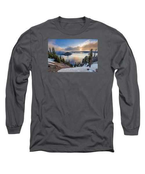 Sun Rising Through Mists Long Sleeve T-Shirt