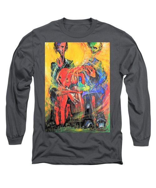Sun-swirled Hope And Salvation Long Sleeve T-Shirt