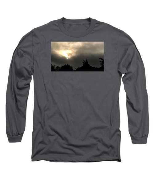 Sun Through Fog Long Sleeve T-Shirt by Carlee Ojeda