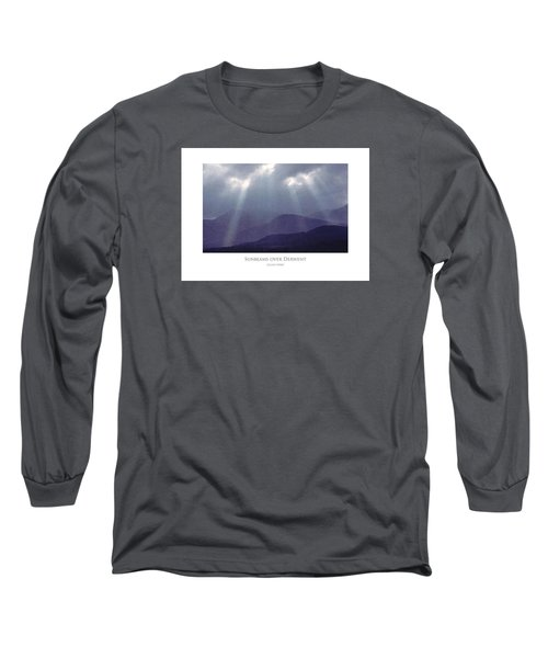 Sunbeams Over Derwent Long Sleeve T-Shirt