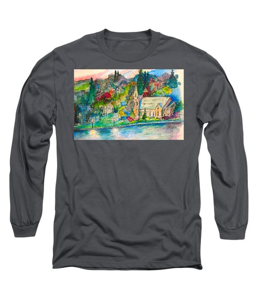 Sunday Evening In Skaneateles Ny Long Sleeve T-Shirt
