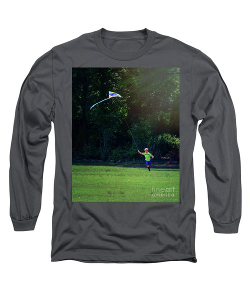 Sunday Funday At Honor Heights In Vertical Long Sleeve T-Shirt
