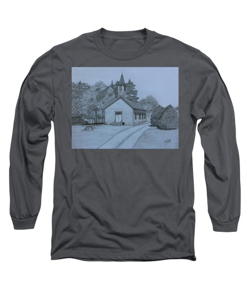 Sunday In Fairview  Long Sleeve T-Shirt by Tony Clark